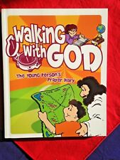 """WALKING with GOD The young person's Prayer Diary"" Book"