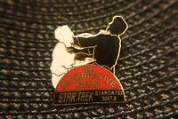 Star Trek THE ALTERNATIVE FACTOR Original Series Vintage Hollywood Enamel Pin
