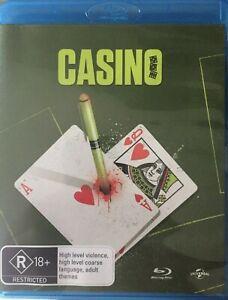Casino Blu Ray New/Sealed Region B Australian Version