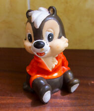 Disney Rescue Rangers Chip 'n Dale squeaker Rubber bath toy doll Soviet Ussr 90s