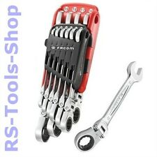 Facom 10 tlg Maul-Schlüssel-Satz Ratschen-Ring-Schlüssel-Satz Ratschen-schlüssel
