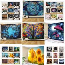 US Ship Hippie Psychedlic Mandala Tapestry Wall Hanging Art Blanket Home Decor