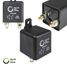 OLS 12v DC 120 Amp Split Charge Relay Switch 4 Terminal Relays for Truck Boat