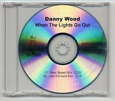 Danny Wood Maxi-CD When the Lights Go Out - acetate promo  new kids on the block