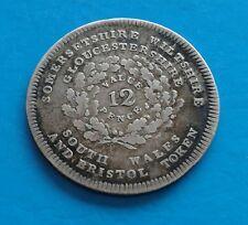 1811 Bristol Shilling-ARGENT-W. Sheppard