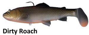 Savage Gear 3D Trout Rattle Shad Gummifische, Hechtköder 20,5cm 103g Dirty Roach