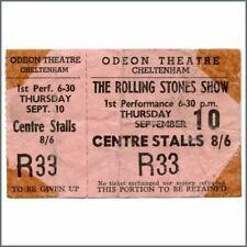 Rolling Stones 1964 Cheltenham Odeon Concert Ticket (UK)