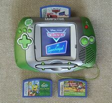 Leapster Leapfrog Learning System Game Console Green with 3 Games