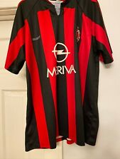 Meriva Soccer Jersey Italy Milano Red Football Xl or xxl Ac Milan