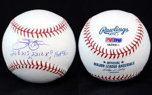 Jim Palmer SIGNED ROMLB Baseball + 268 W's + 2212 K's + HOF 90 ITP PSA/DNA