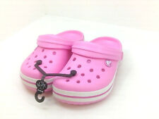 Crocs Girls 6VTZ Clogs and Mules, Hot Pink, Size 1.0 WDCH