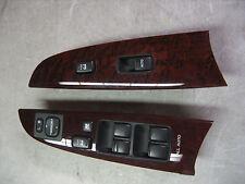 Lexus IS250 IS350 Master & RH Door Window Switch Cluster w/Faux Wood Trim 07-10