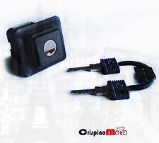PULSANTE SERRATURA SELLA MONOPOSTO COMPLETO DI CHIAVI VESPA 50 FL-VESPA 50 HP