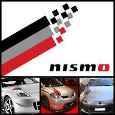 Nismo hood decal kit sticker stripe Universal #7 all nissans headlight decal