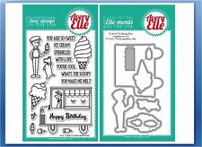 Avery Elle Photopolymer Clear Stamp & Die Combo  ~ THE SCOOP Sweet  ~ST/D-16-18