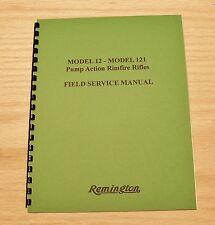 Remington Field Service Manual Model 12-121 - Gunsmith - #40