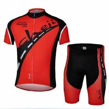 Red Cycling Jersey and Pant/Short Set