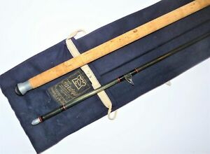 Hardy Graphite Spinning rod, 11' Two piece, Black Carbon, Classic Salmon Pike...