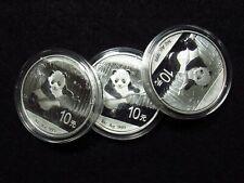 2014 China Silver Panda 10 Yuan ORIGINAL CAP