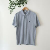 Brooks Brothers Men's Original Fit Performance Polo Shirt S Small Gray