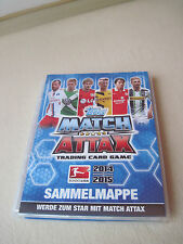 Sammelmappe Match Attax der Saison 2014/2015 mit Traiding Cards