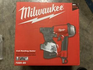 Milwaukee 7220-20 1-3/4 inch Coil Roofing Nailer