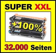 4 x Cartouche d'encre pour DELL 3110CN 3115CN 3115 3110 CN - Super XXL Cartouche