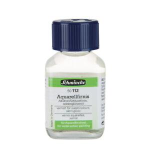 Schmincke Aquarellfarbe Aquarellfirnis Hilfsmittel 60 ml Flasche 50112