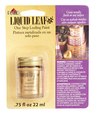 Liquid Leaf Classic Gold Color Metallic Leafing Paint Gilding Finish Plaid 6110