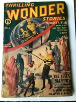 THRILLING WONDER STORIES PULP MAY 1940