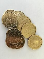 12 FIVE NIGHTS AT FREDDY'S FNAF TOKEN COINS Party Favor BRASS