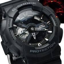 NEW Casio G-Shock Digital Black Resin Mens Watch GA-110-1B