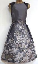 MONSOON ✩ STUNNING NADINE SILVER GREY CLASSIC COCKTAIL MOTB DRESS ✩ UK 18  BNWT