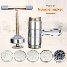 Stainless Steel Manual Noodle & Pasta Maker Press Spaghetti Kitchen Tool Machine