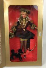 Spiegel Shopping Chic Barbie Limited Ed. Blonde Barbie W/ Black Poodle NRFB 1995