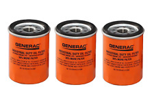 3 Pack Generac OEM Generator Oil Filter 070185E – Replaces 070185ES 10 to 20kw