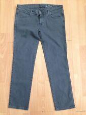 SIWY HANNAH Ladies Slim Crop Grey Black Jeans @ Size 30 UK 14 Designer