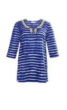 ULLA POPKEN Shirt-Tunika mit Perlenstickerei   Gr.46/48