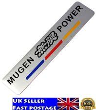 New MUGEN POWER Car Sticker Metal Emblem Badge for HONDA Civic Accord S2000 CR-V