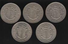 1963-1967 Elizabeth II Half Crown Coins Date Run | Bulk Coins | Pennies2Pounds