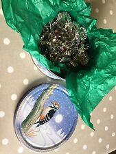 De colección Alemana De Estaño titulares de clip de Vela de Navidad árbol de plata 26 10 mm danés
