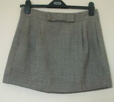 Red Valentino Brown Tweed Mini Skirt Size 42 = UK 10