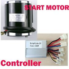 24V Motor Brush Speed Controller Box Electric Bicycle Scooter Bike + 500W Start
