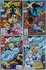 Lot of 4, X-Force Vol 1 #26 #27 #28 #29  (Marvel, 1993)  VF/NM