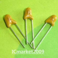 500 PCS 1UF/35V DIP-2 35V 1uF 105 Radial Tantalum capacitor 105/35V