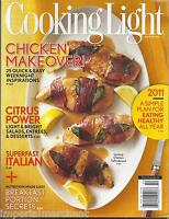 Cooking Light Magazine Chicken Makeovers Citrus Breakfast Portion Secrets 2011