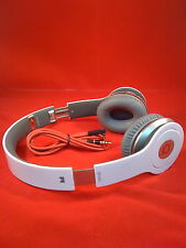 Used Original Monster Beats by Dr Dre Solo HD Earphones Headphones WHITE iphone
