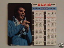 1971 Elvis Presley Wallet Calendar Near Mint/Mint Cond.