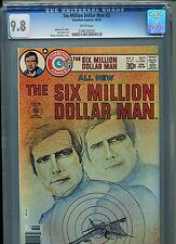 Six Million Dollar Man #3 CGC 9.8 (1976) Charlton Highest Grade Only 3 @ 9.8