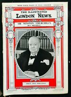 ILLUSTRATED LONDON NEWS - Nov 1954 - WINSTON CHURCHILL 80th Borthday